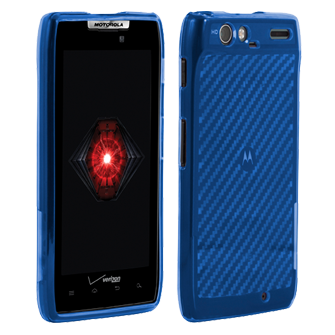 High Gloss Silicone Cover - Black - Blue