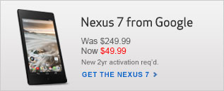 $49.99 Nexus 7 Tablet